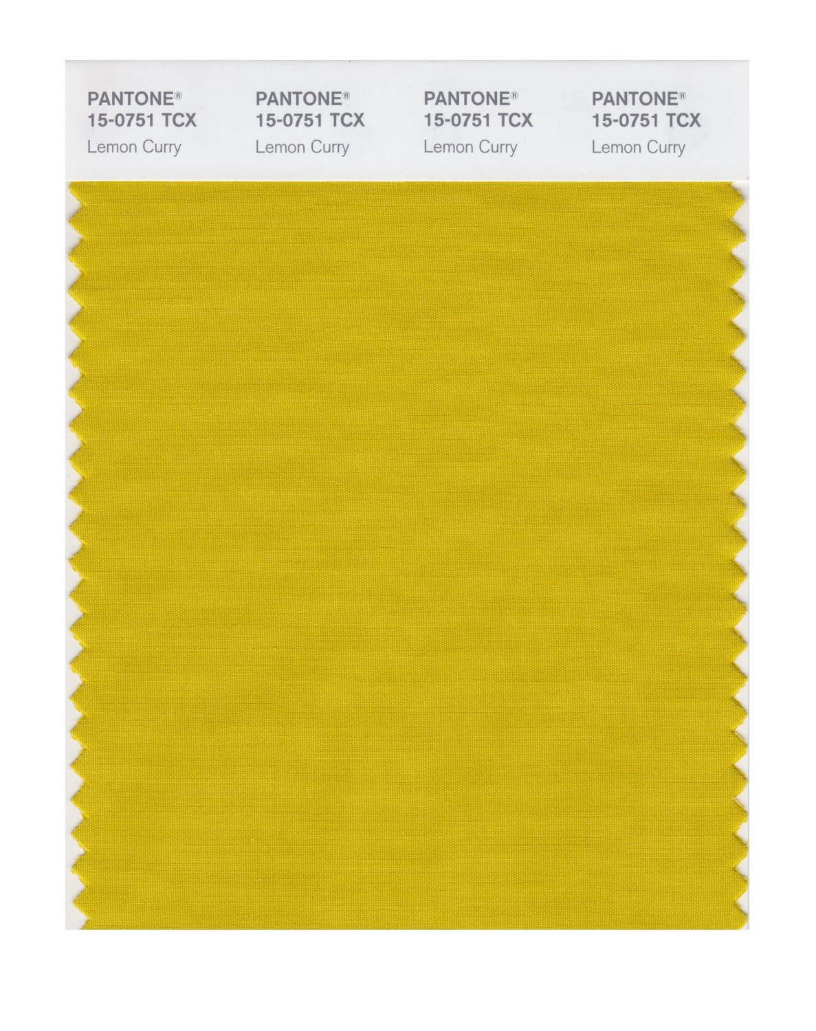 Pantone Smart Swatch 15-0751 Lemon Curry