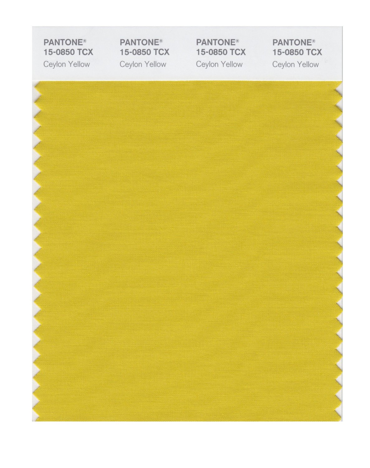 Pantone Smart Swatch 15-0850 Ceylon Yellow