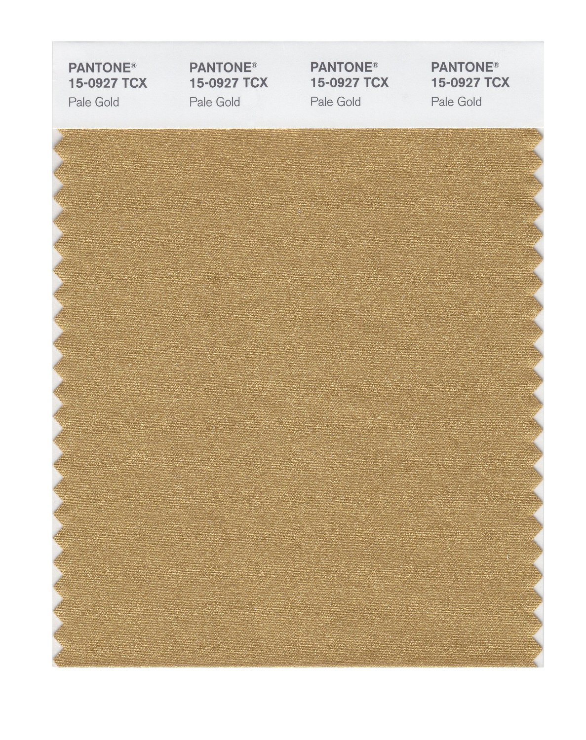 Pantone Smart Swatch 15-0927 Pale Gold