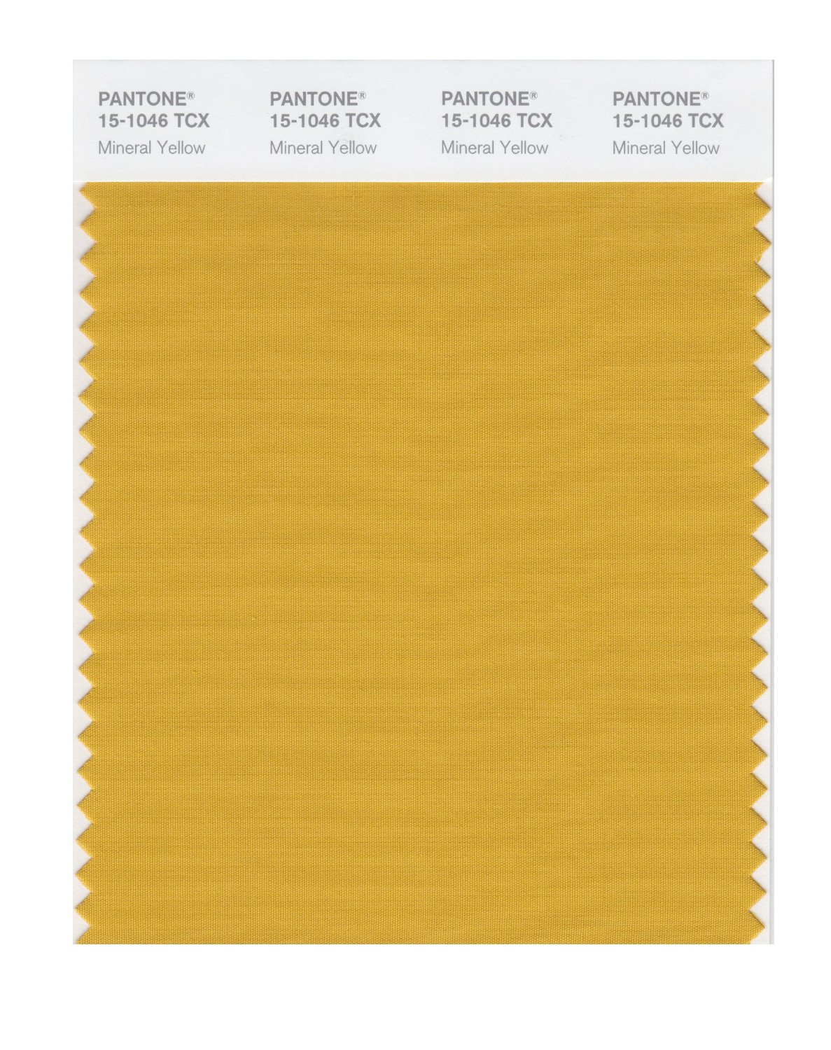 Pantone Smart Swatch 15-1046 Mineral Yellow