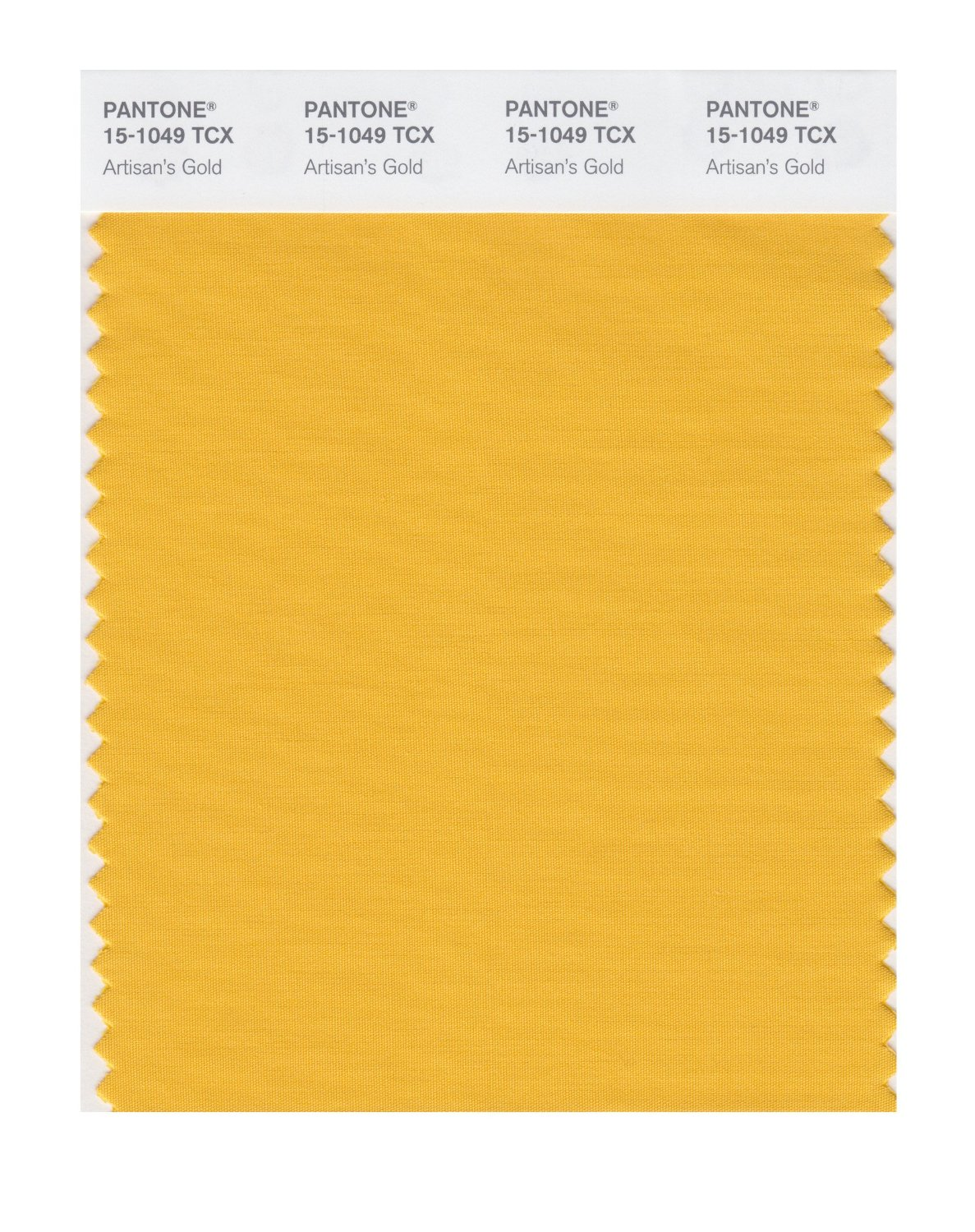 Pantone Smart Swatch 15-1049 Artisan's Gold