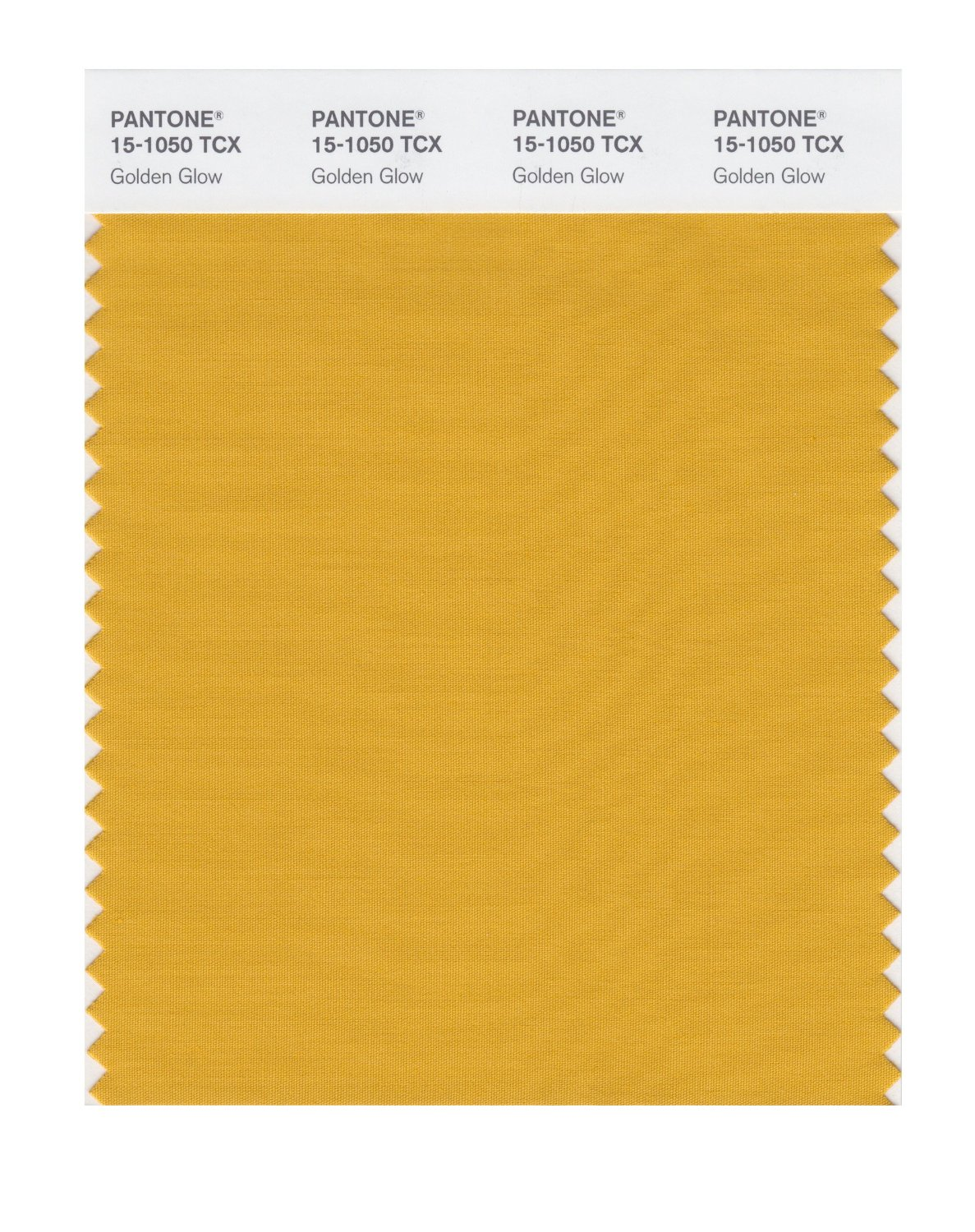 Pantone Smart Swatch 15-1050 Golden Glow