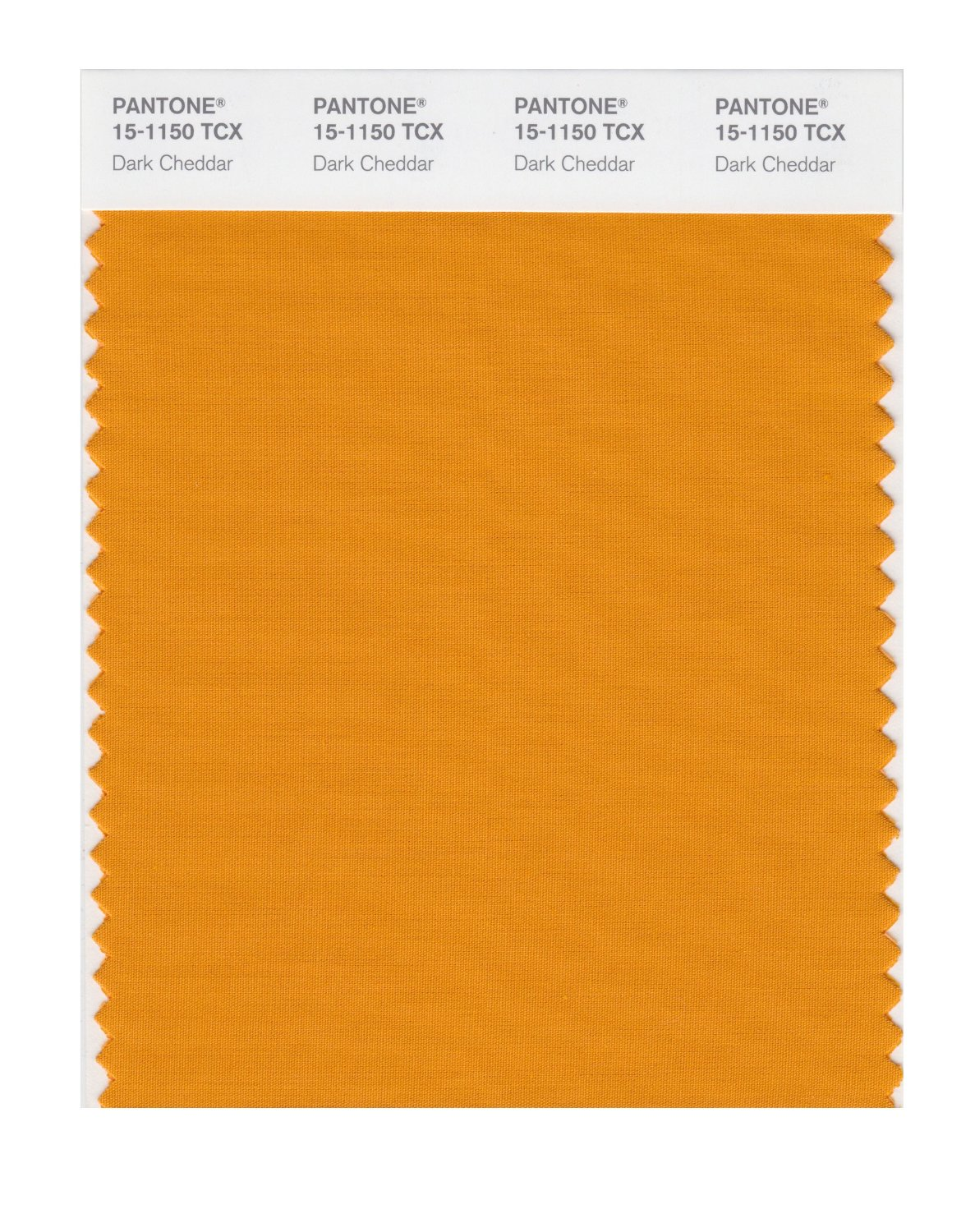 Pantone Smart Swatch 15-1150 Dark Cheddar