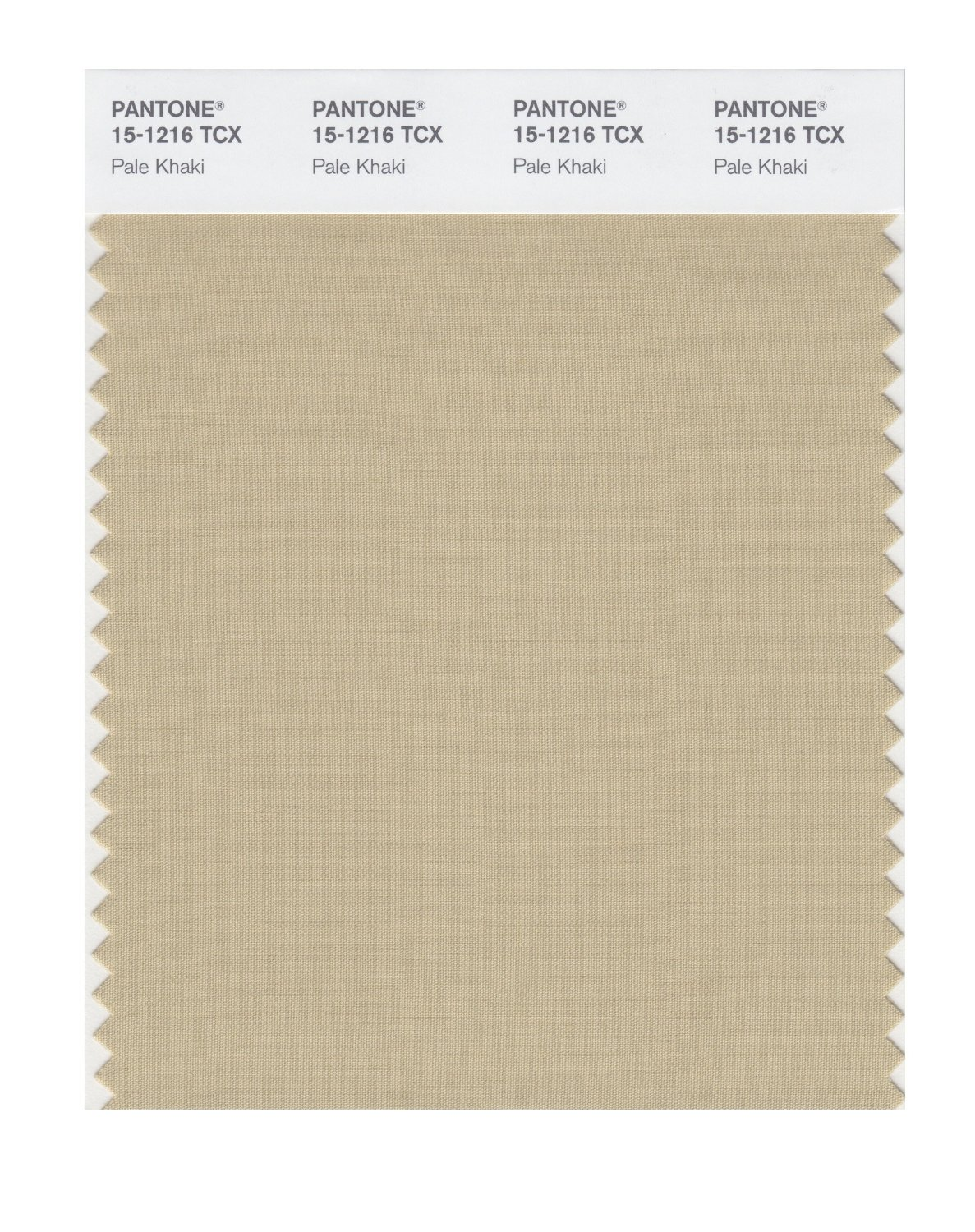 Pantone Smart Swatch 15-1216 Pale Khaki