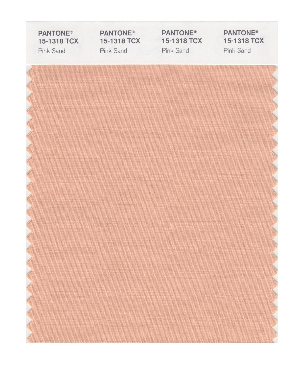 Pantone Smart Swatch 15-1318 Pink Sand