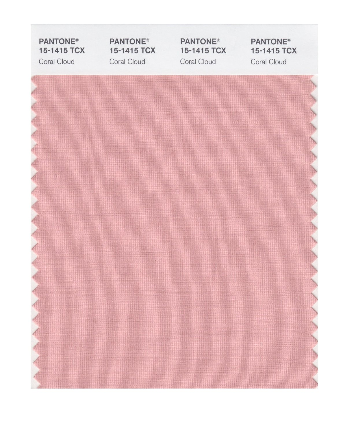 Pantone Smart Swatch 15-1415 Coral Cloud