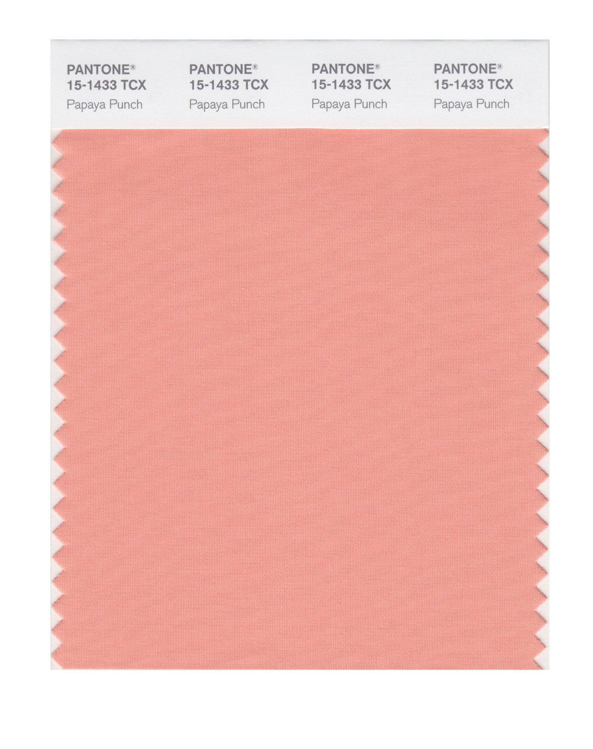 Pantone Smart Swatch 15-1433 Papaya Punch