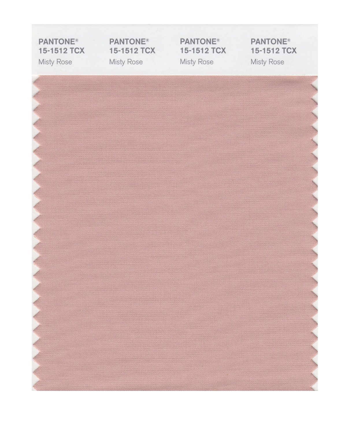 Pantone Smart Swatch 15-1512 Misty Rose