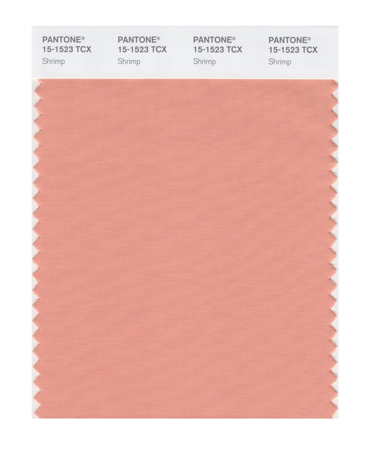 Pantone Smart Swatch 15-1523 Shrimp