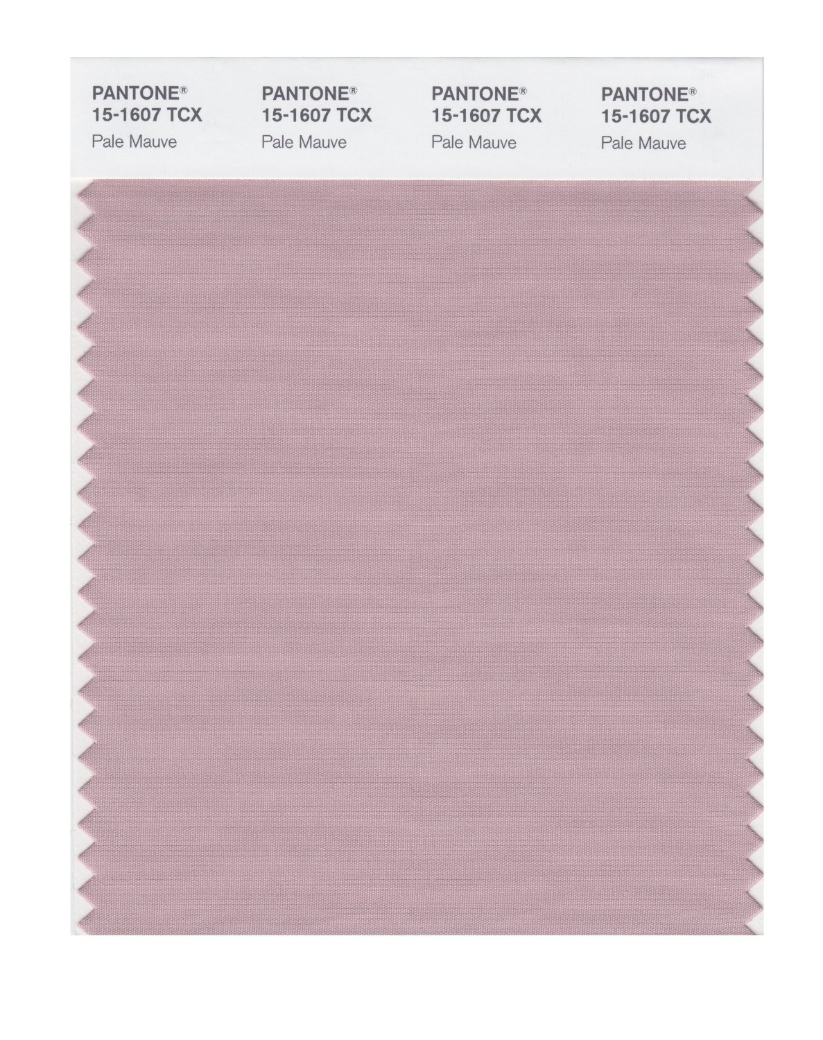 Pantone Smart Swatch 15-1607 Pale Mauve