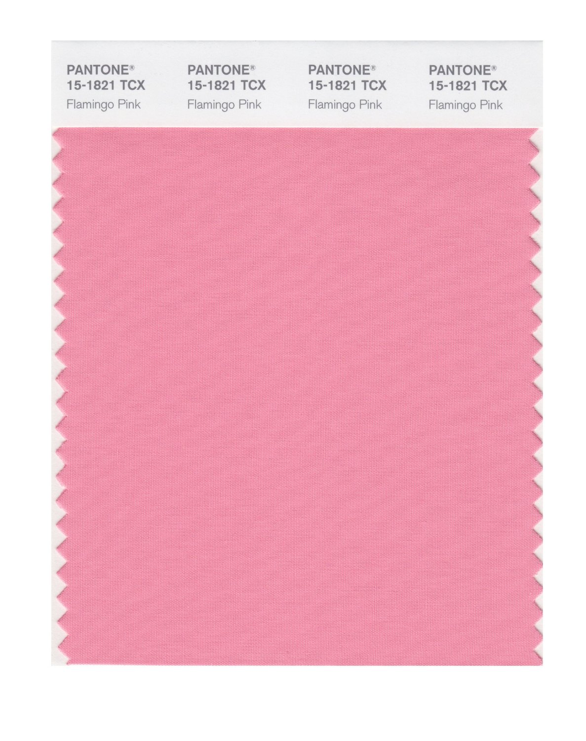 Pantone Smart Swatch 15-1821 Flamingo Pink