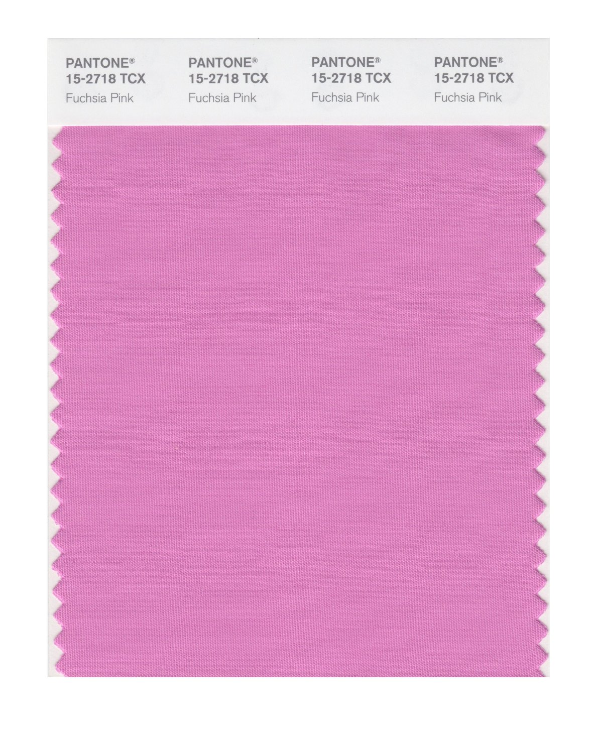 Pantone Smart Swatch 15-2718 Fuchsia Pink