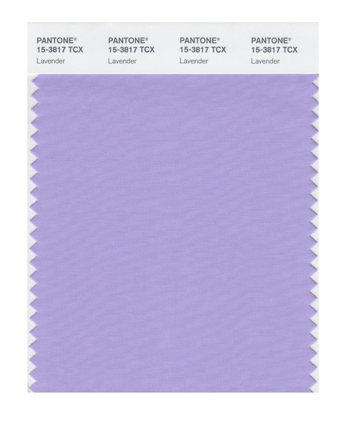 Pantone Smart Swatch 15-3817 Lavender