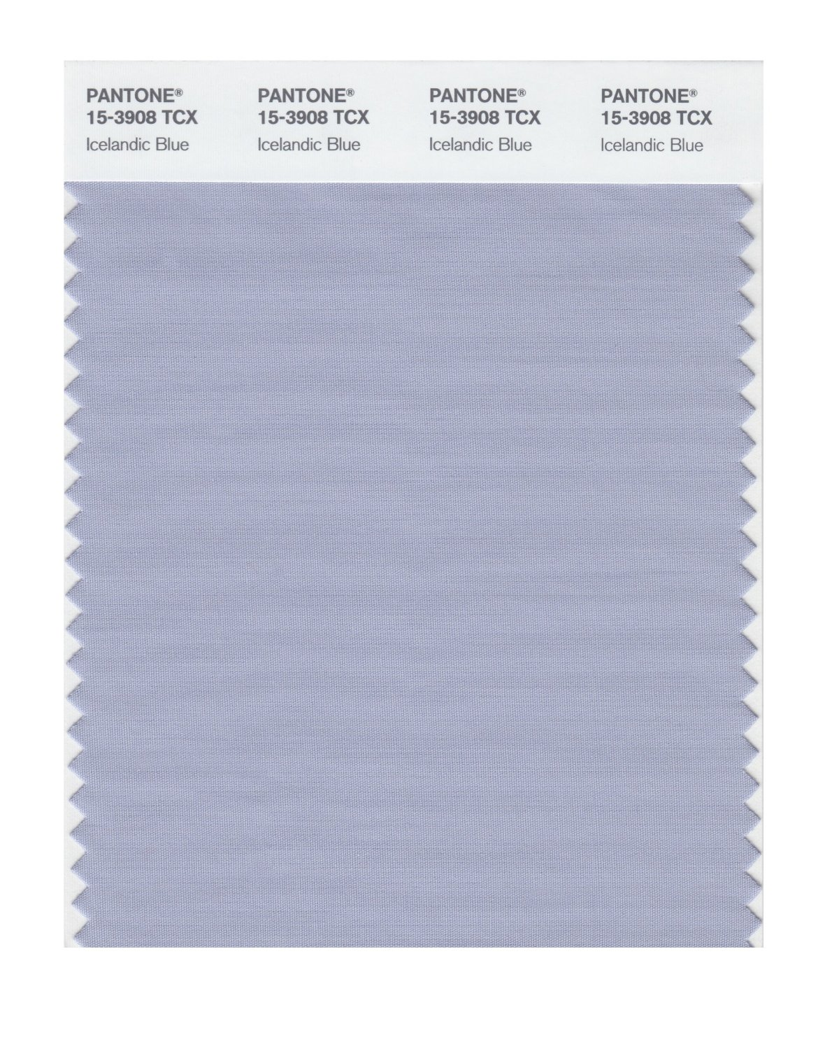 Pantone Smart Swatch 15-3908 Icelandic Blue