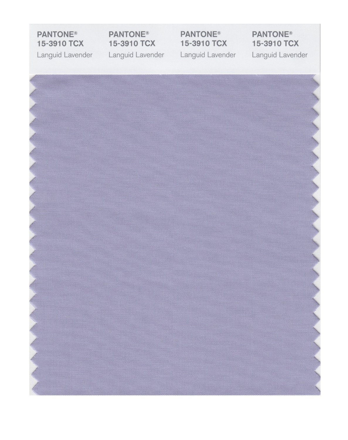 Pantone Smart Swatch 15-3910 Languid Lavender