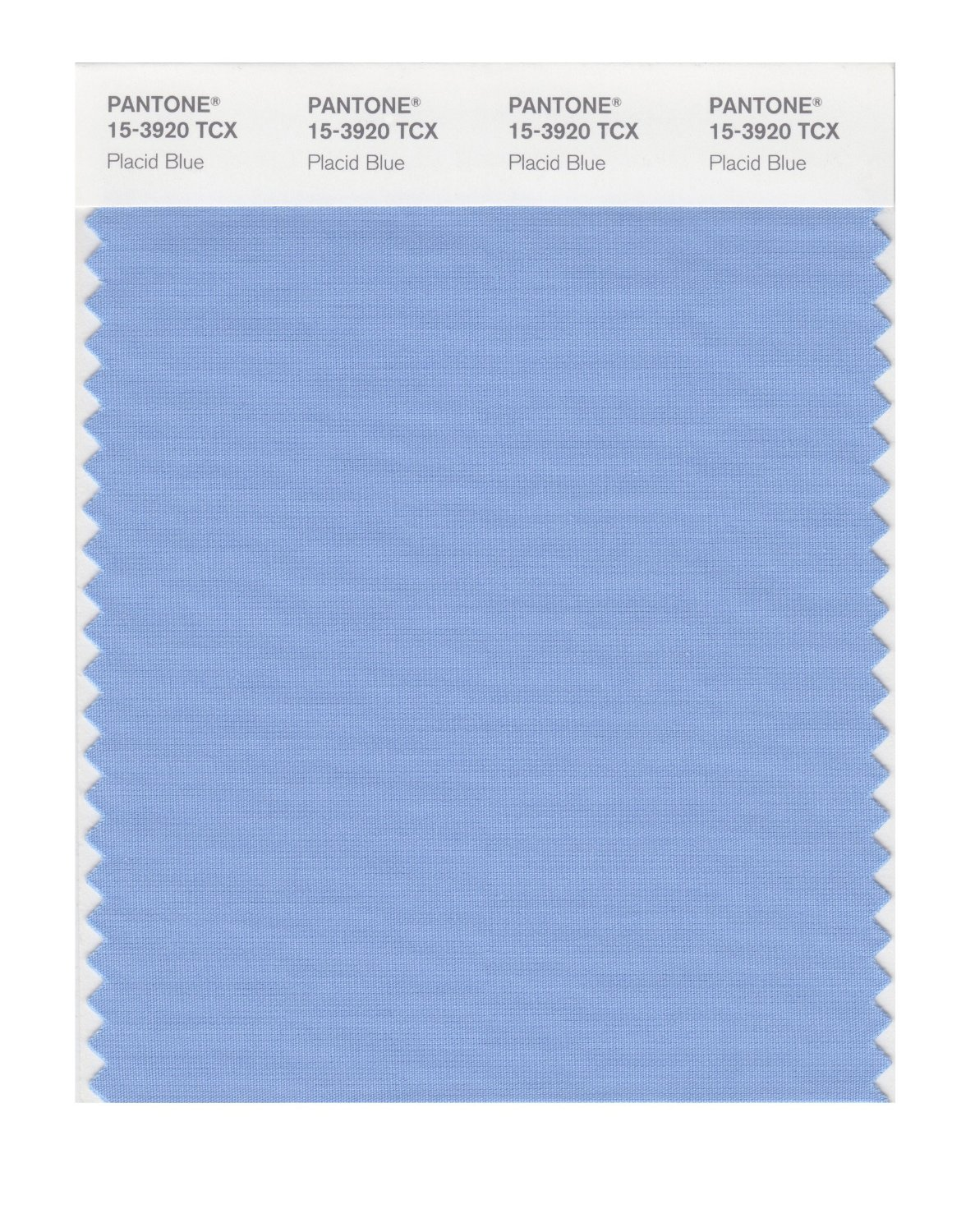 Pantone Smart Swatch 15-3920 Placid Blue
