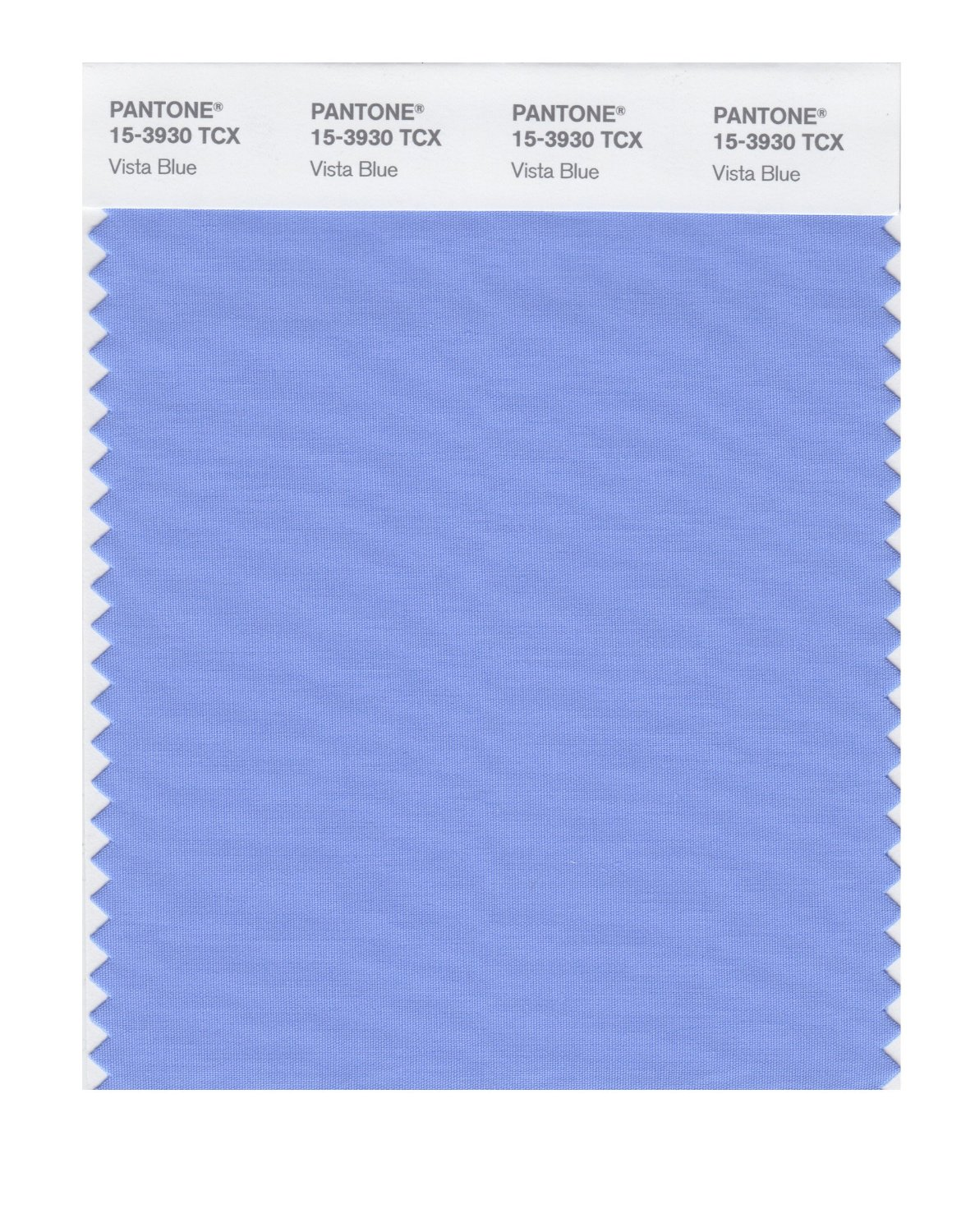 Pantone Smart Swatch 15-3930 Vista Blue