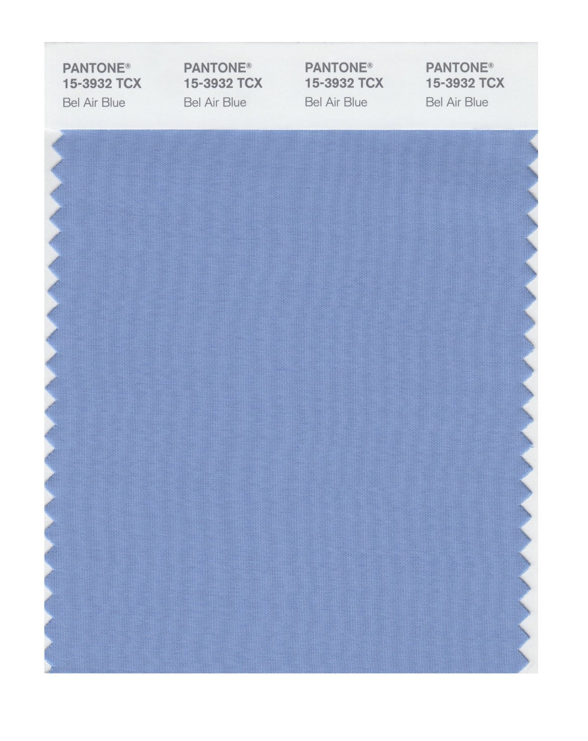 Pantone Smart Swatch 15-3932 Bel Air Blue