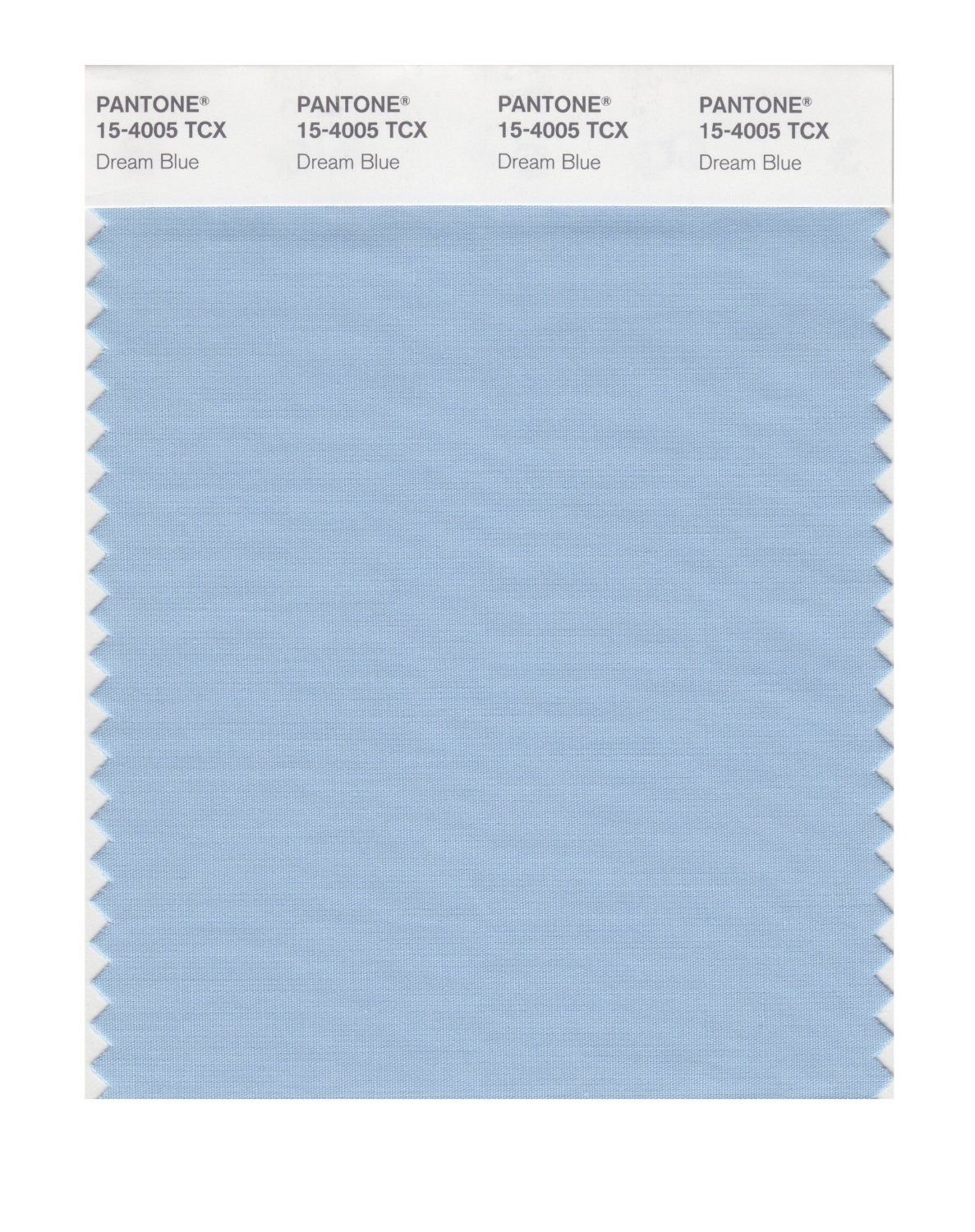 Pantone Smart Swatch 15-4005 Dream Blue