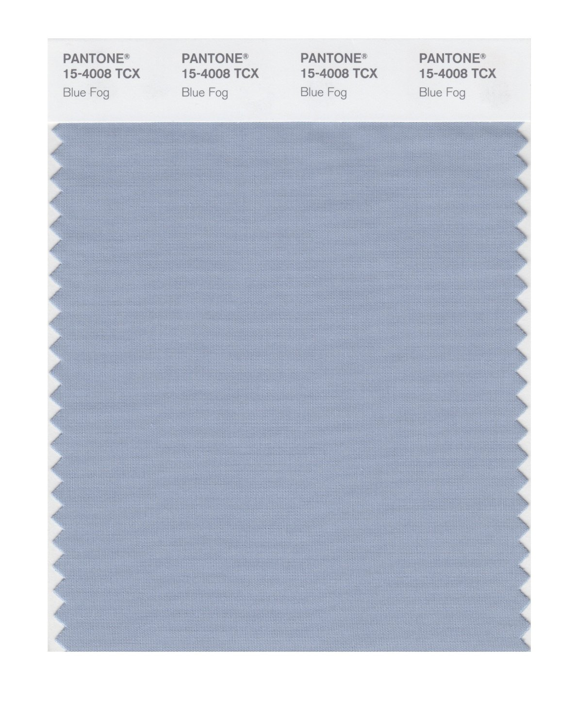 Pantone Smart Swatch 15-4008 Blue Fog
