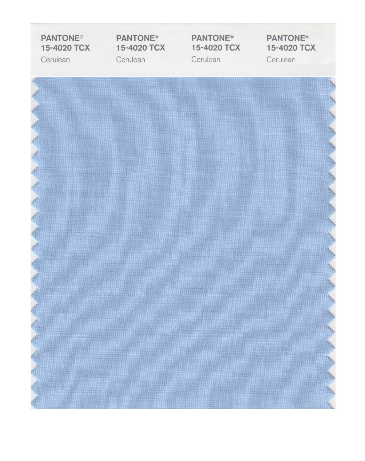 Pantone Smart Swatch 15-4020 Cerulean