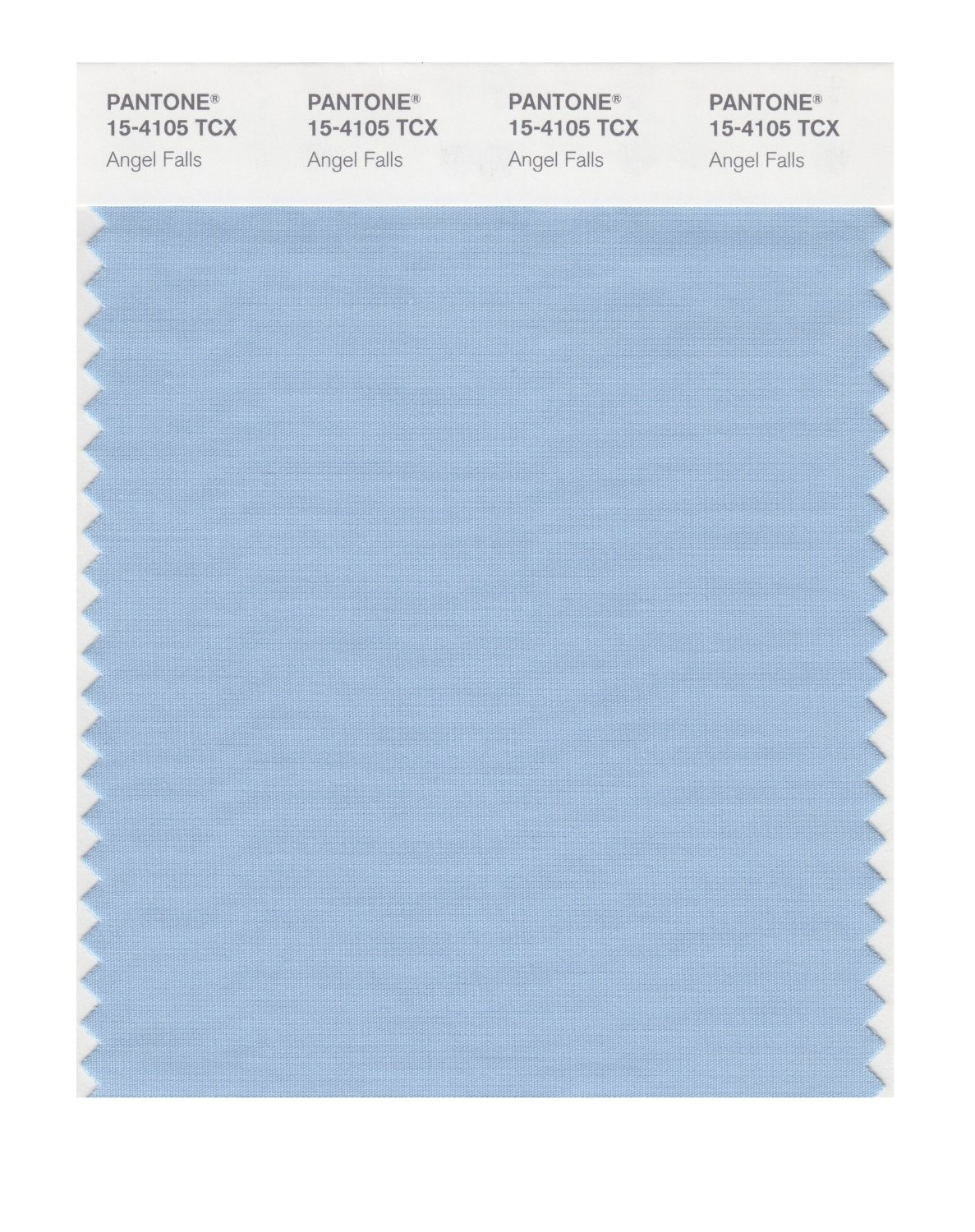 Pantone Smart Swatch 15-4105 Angel Falls