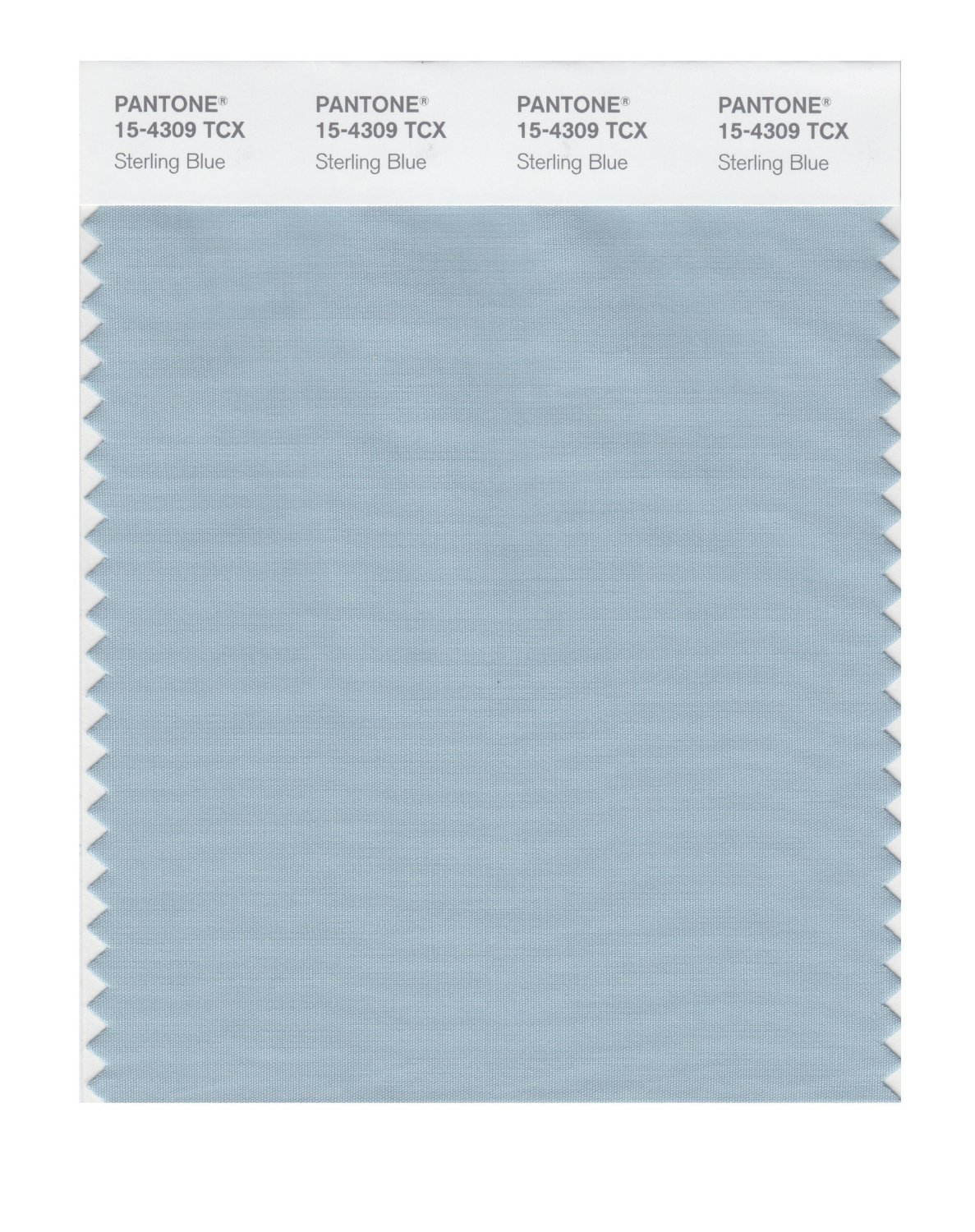 Pantone Smart Swatch 15-4309 Sterling Blue