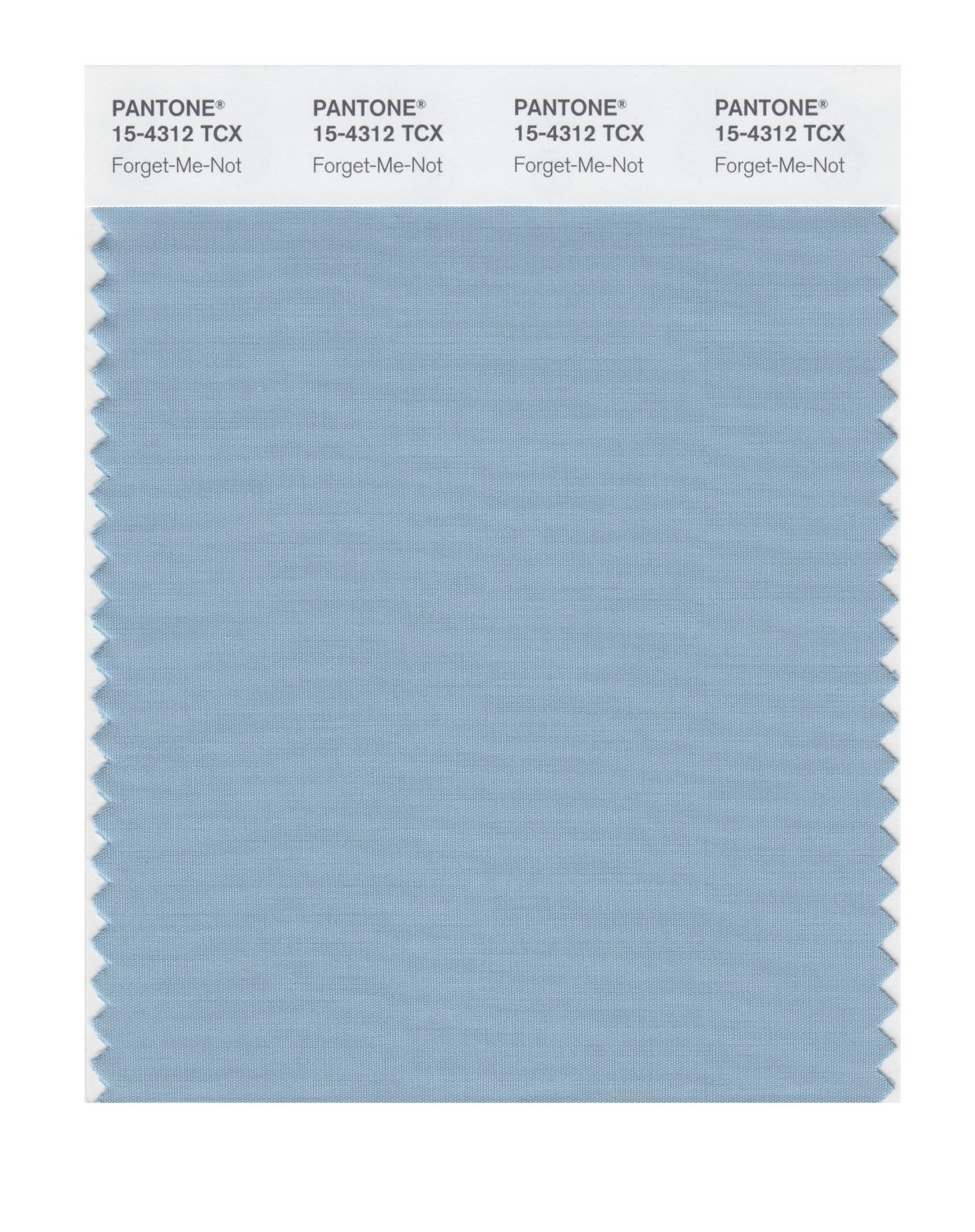 Pantone Smart Swatch 15-4312 Forget-Me-Not