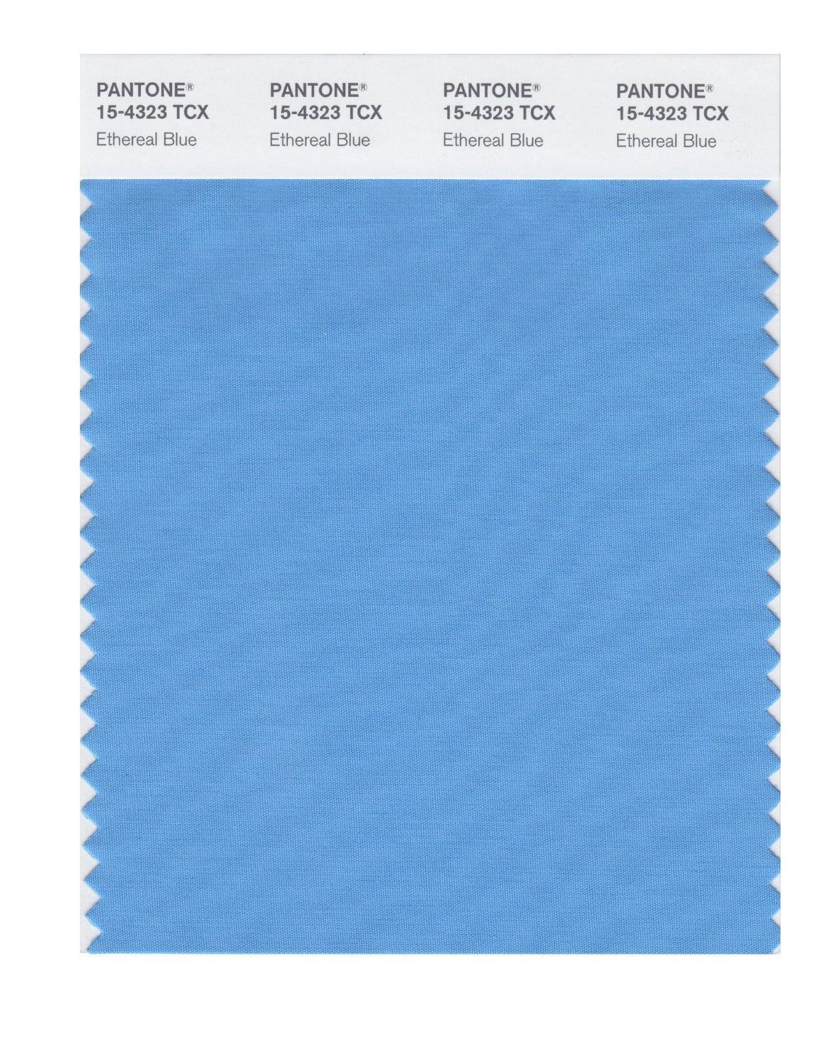 Pantone Smart Swatch 15-4323 Ethereal Blue