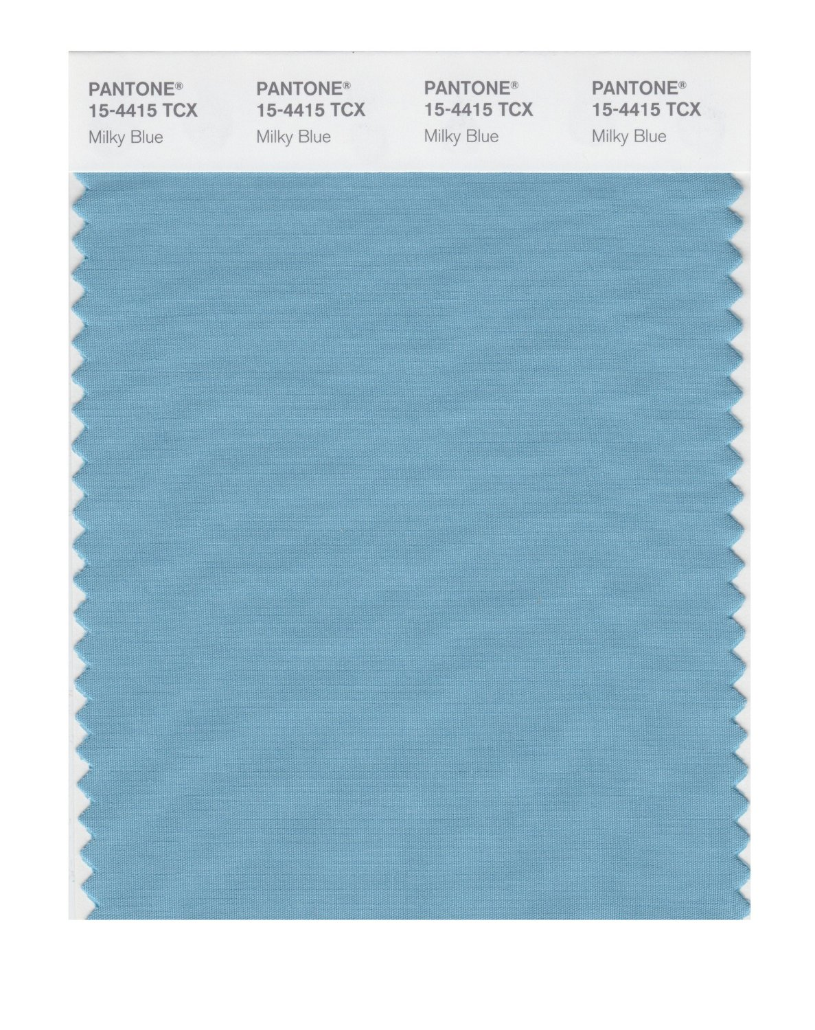 Pantone Smart Swatch 15-4415 Milky Blue