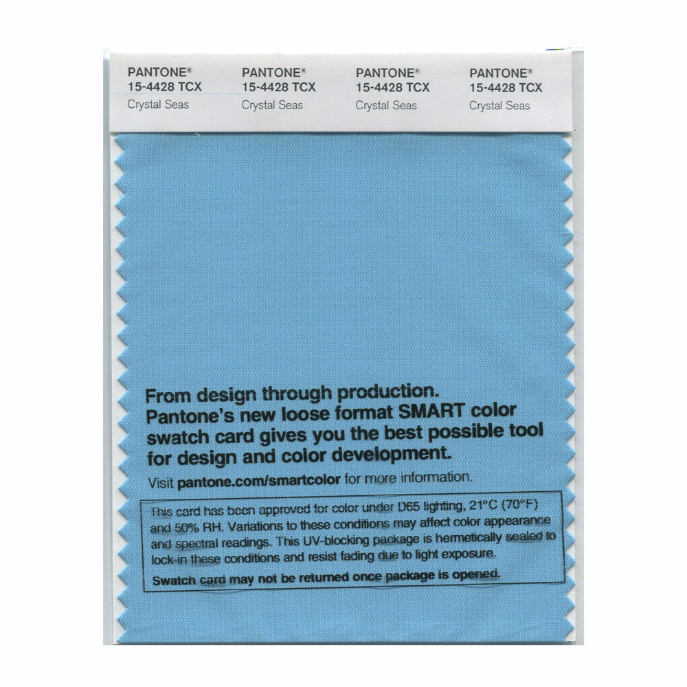 Pantone Smart Swatch 15-4428 Crystal Seas