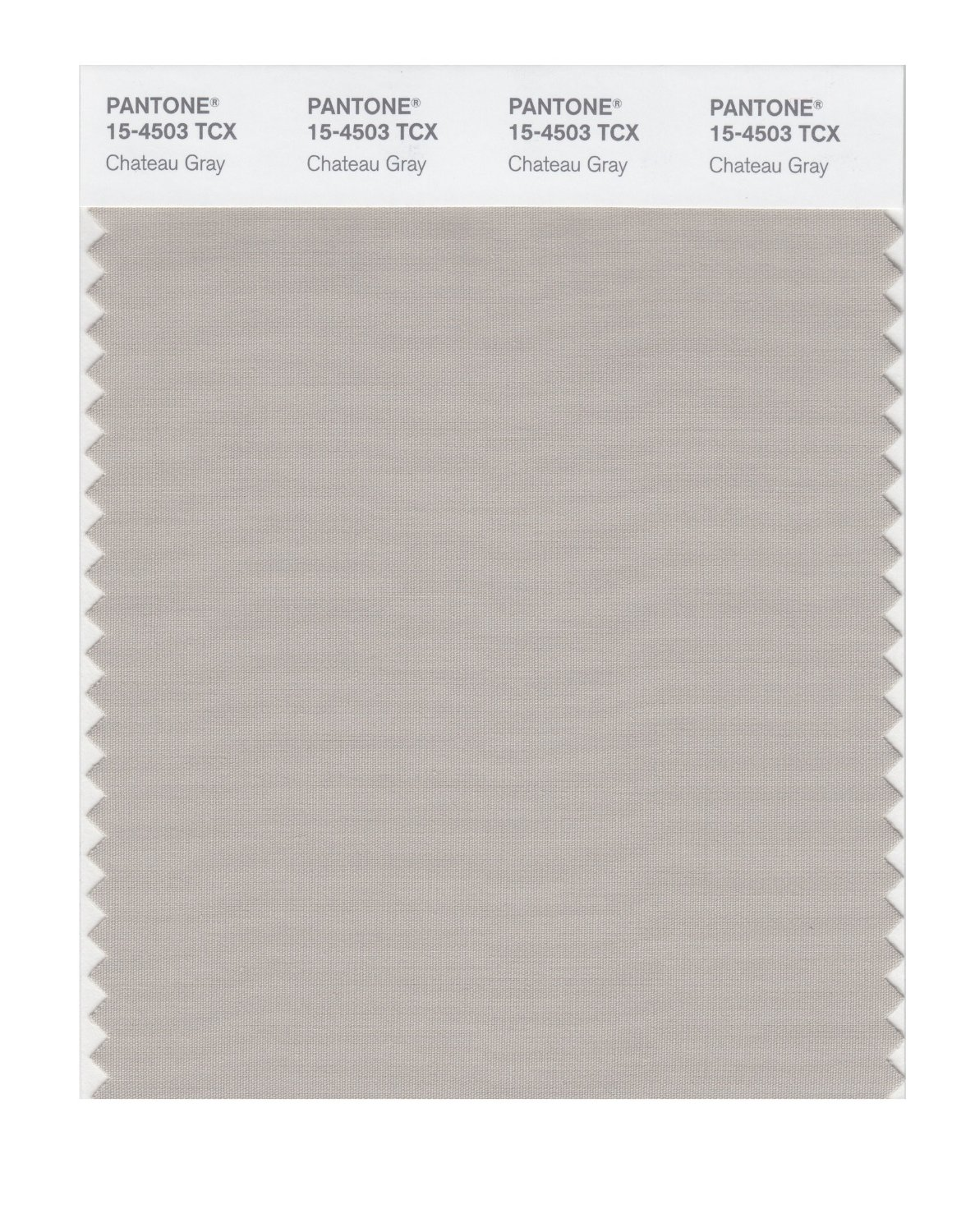 Pantone Smart Swatch 15-4503 Chateau Gray