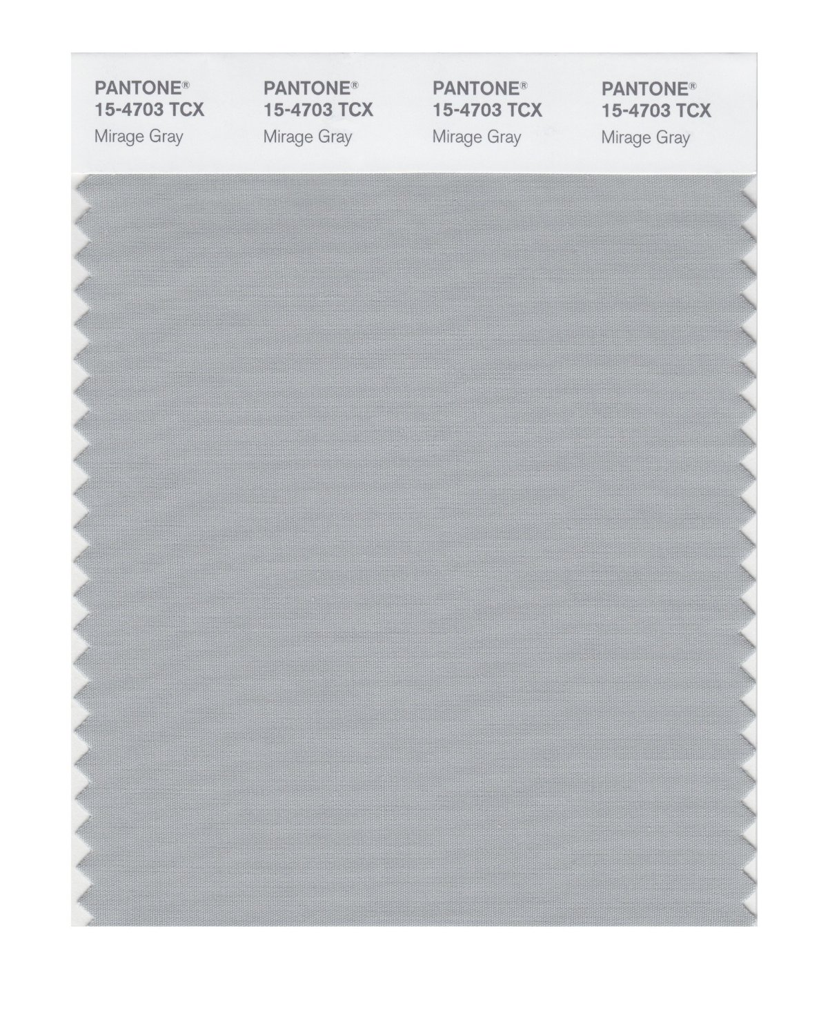 Pantone Smart Swatch 15-4703 Mirage Gray