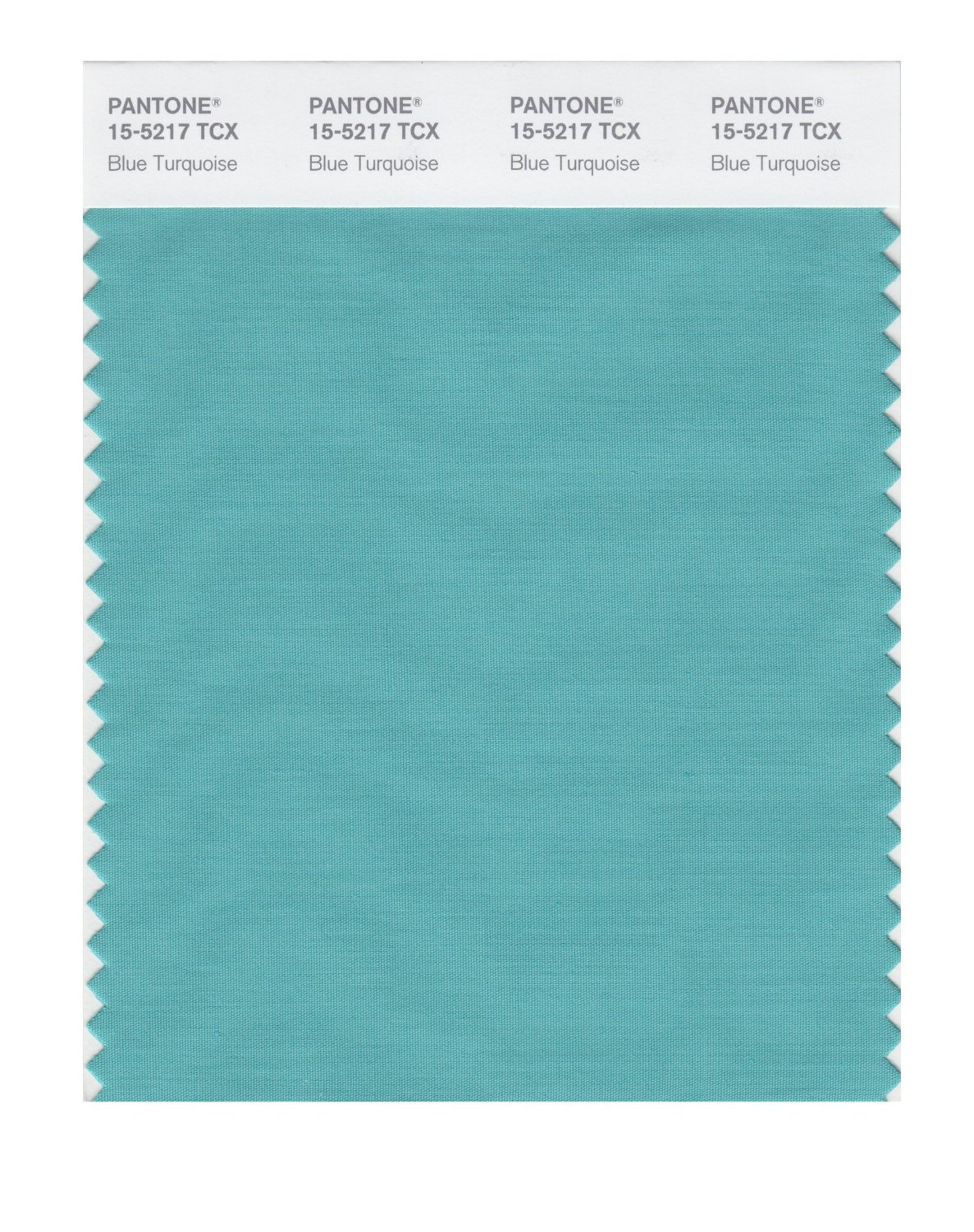 Pantone Smart Swatch 15-5217 Blue Turquoise