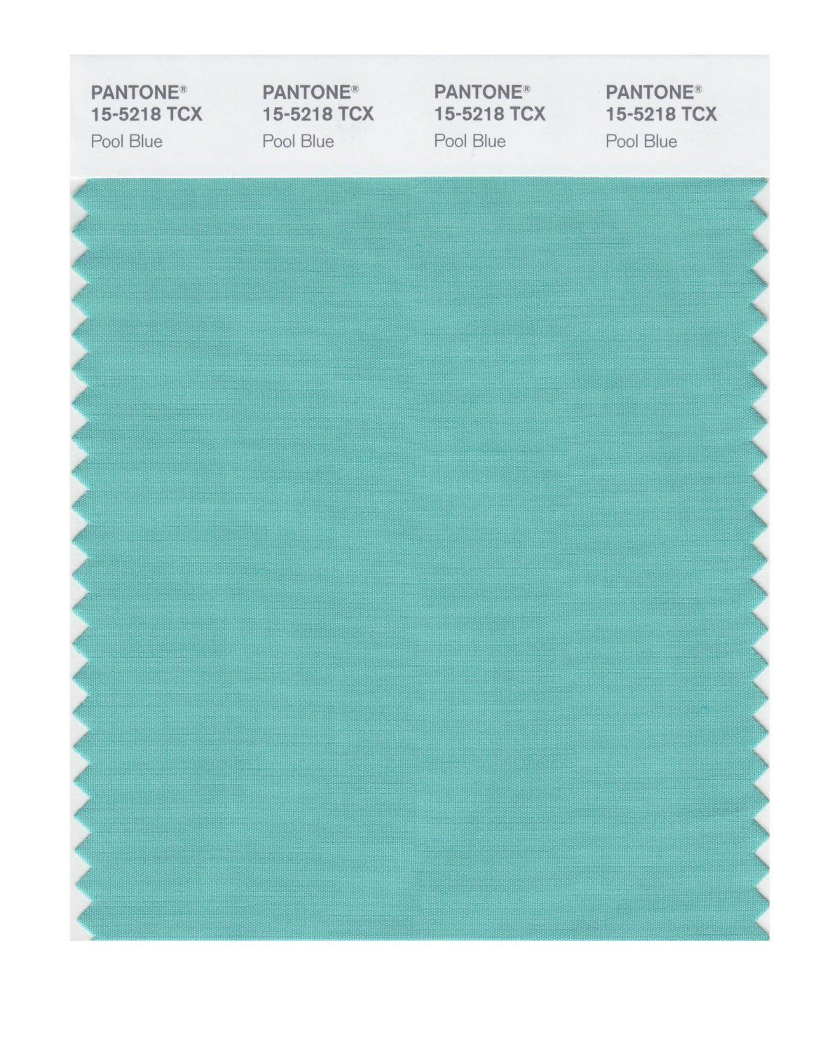 Pantone Smart Swatch 15-5218 Pool Blue