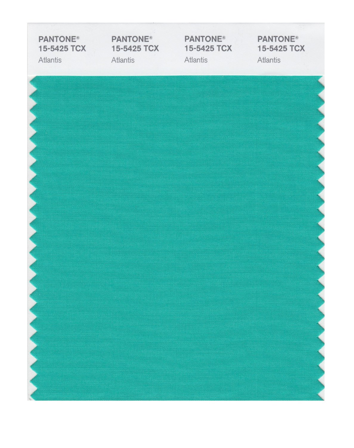 Pantone Smart Swatch 15-5425 Atlantis