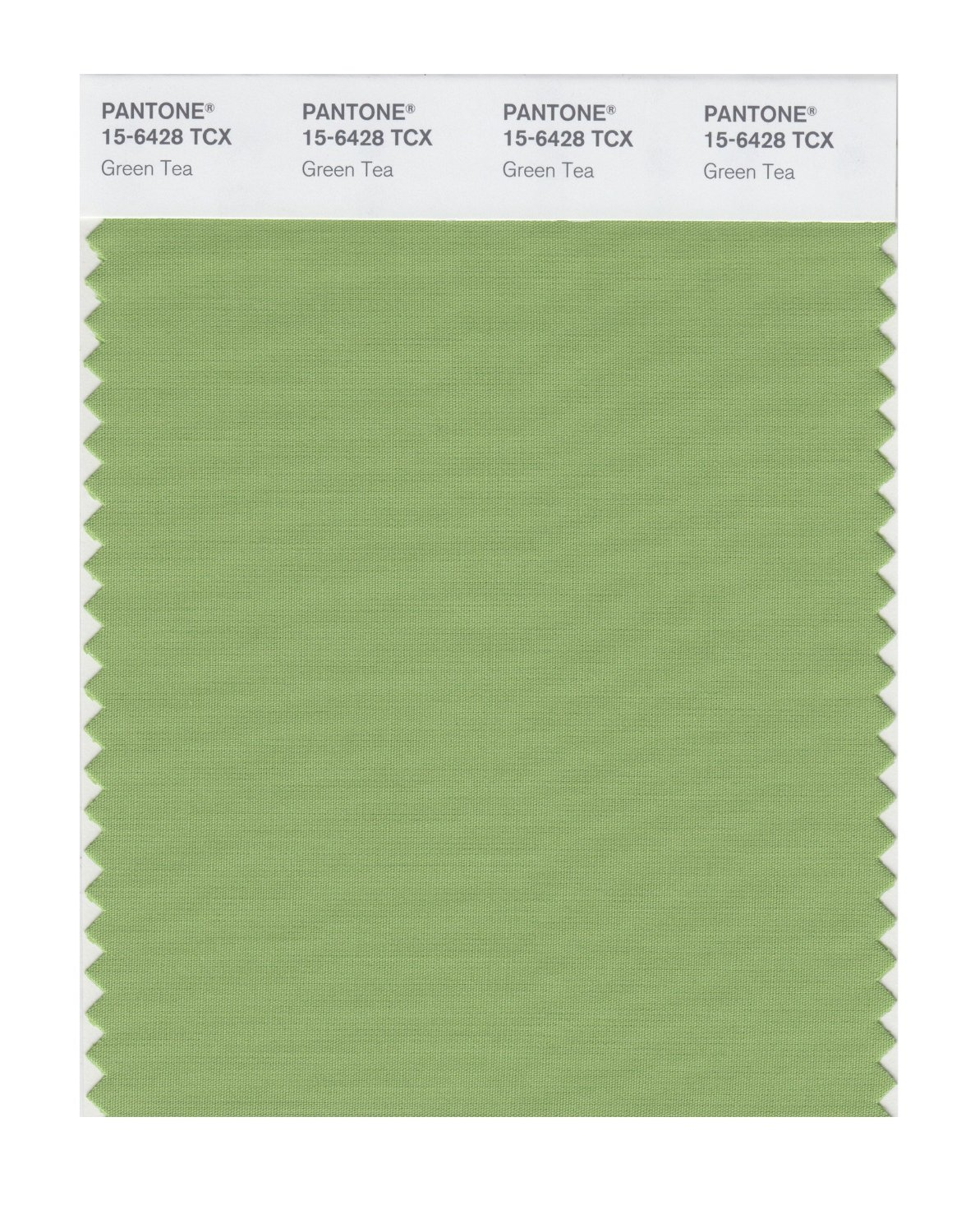 Pantone Smart Swatch 15-6428 Green Tea