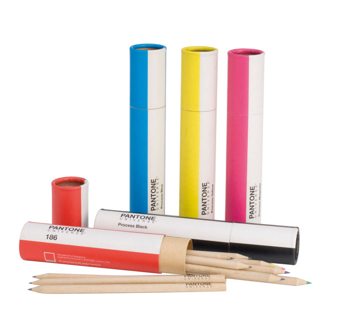 PANTONE UNIVERSE Pencil Pouches and Pencil Tubes