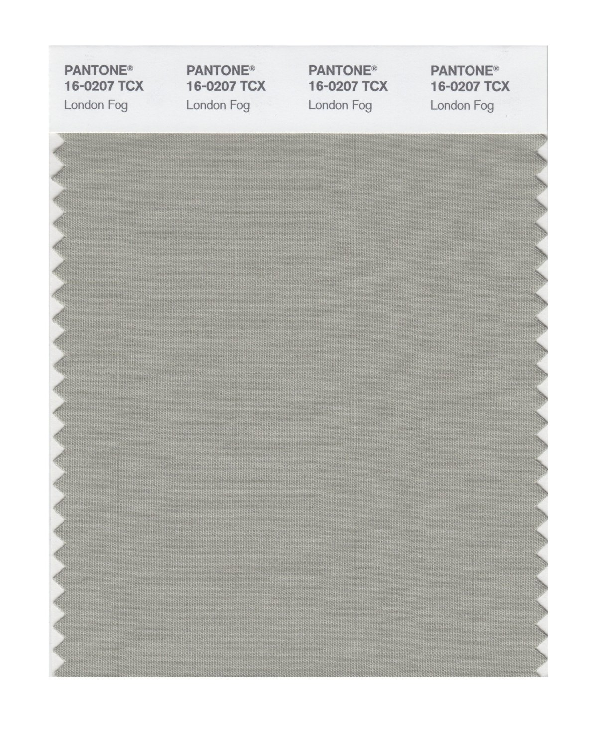 Pantone Smart Swatch 16-0207 London Fog