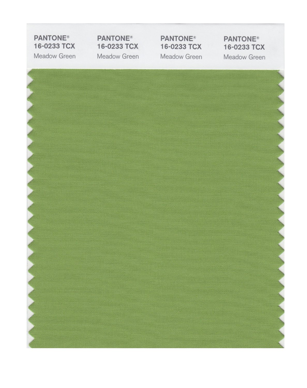 Pantone Smart Swatch 16-0233 Meadow Green