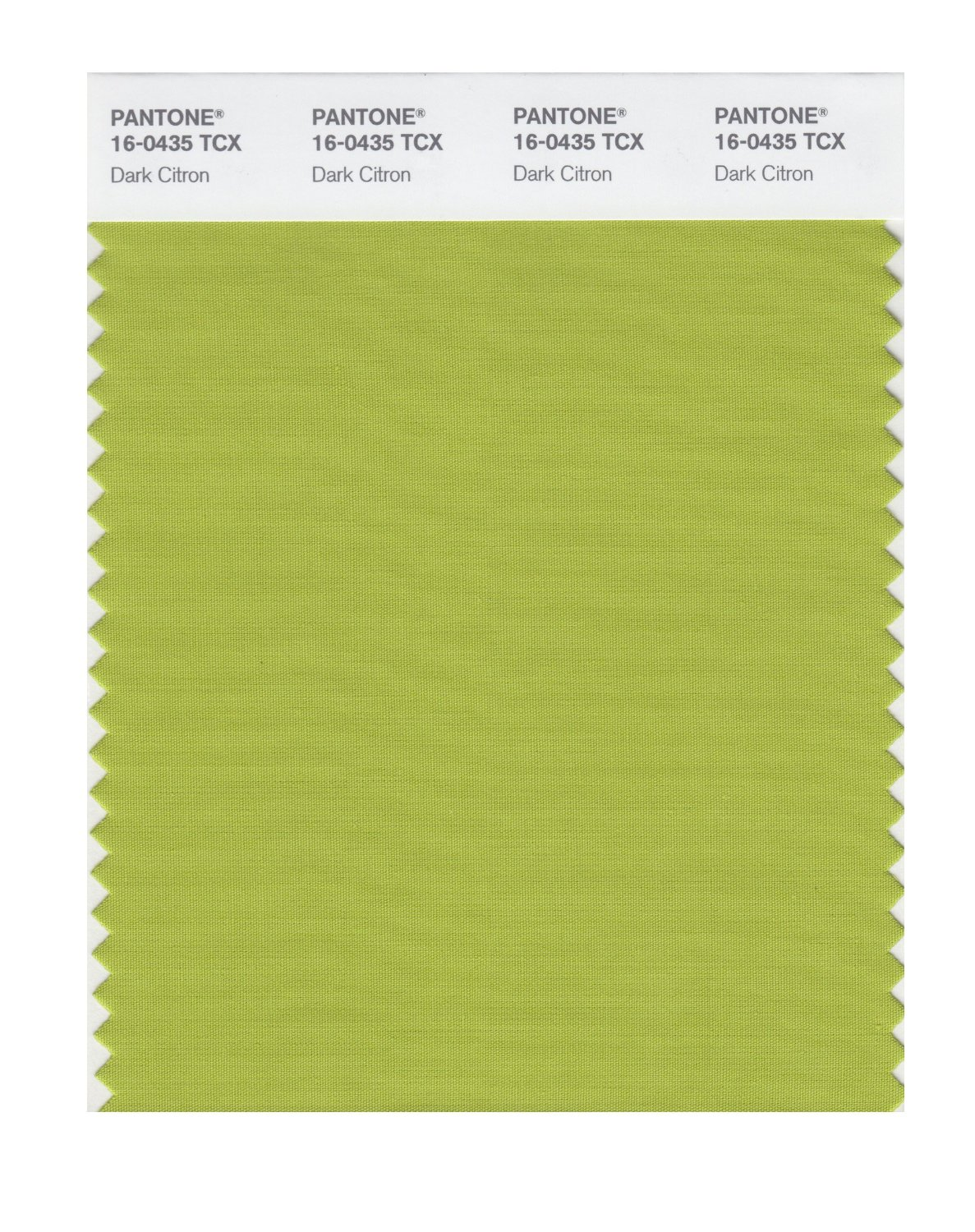 Pantone Smart Swatch 16-0435 Dark Citron