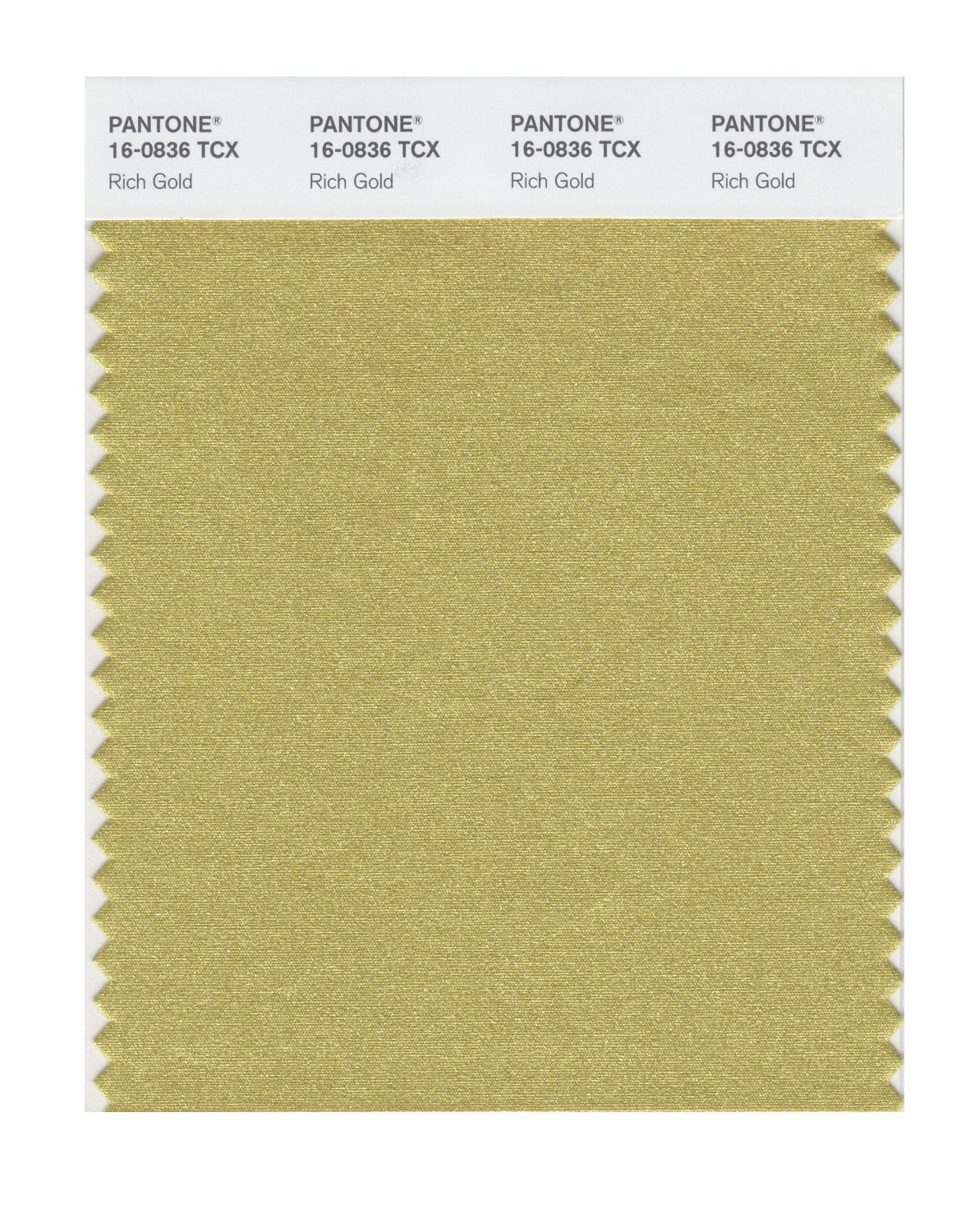 Pantone Smart Swatch 16-0836 Rich Gold