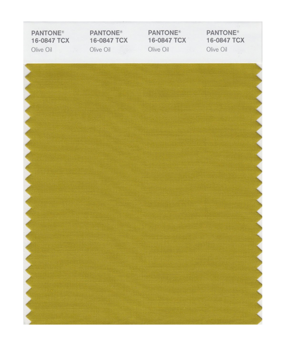 Pantone Smart Swatch 16-0847 Olive Oil
