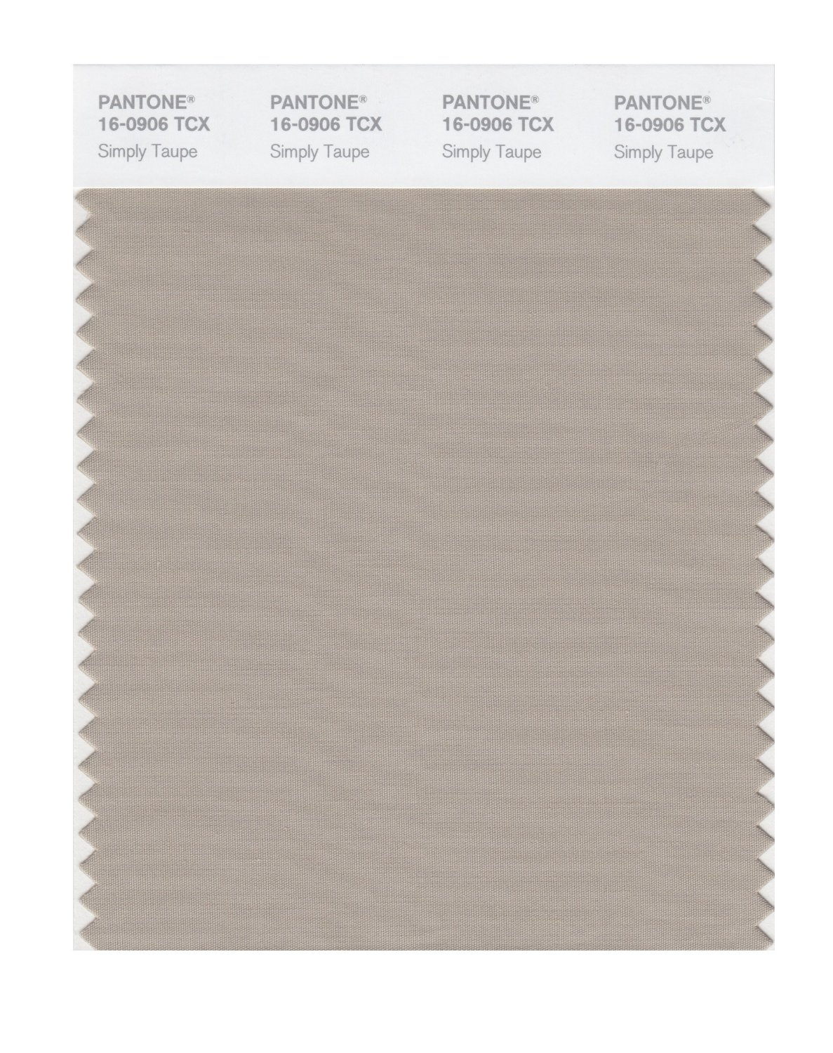 Pantone Smart Swatch 16-0906 Simply Taupe