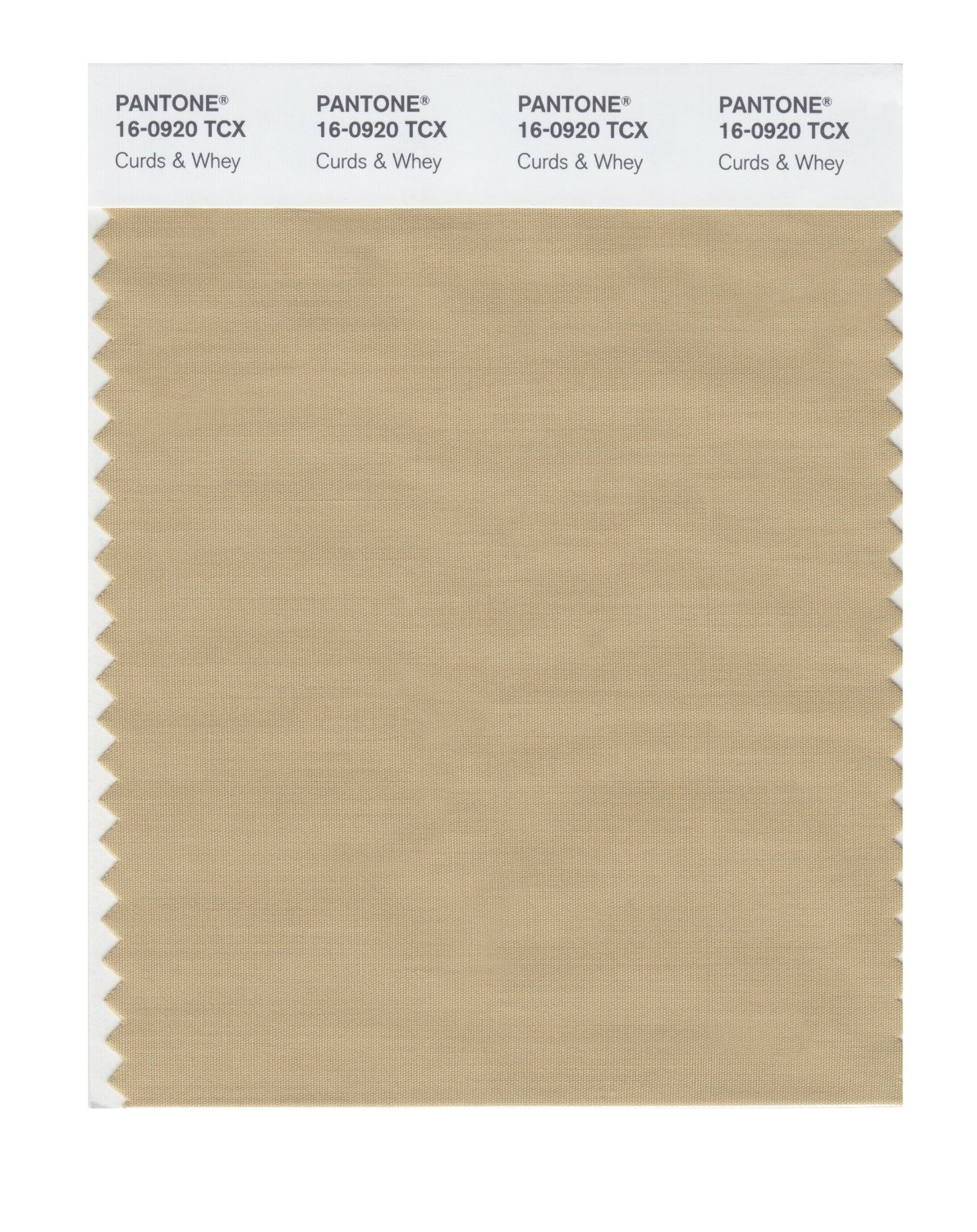 Pantone Smart Swatch 16-0920 Curds & Whey