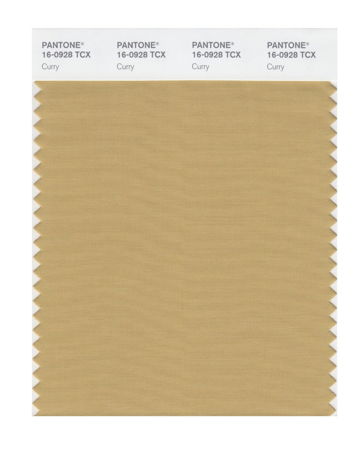Pantone Smart Swatch 16-0928 Curry
