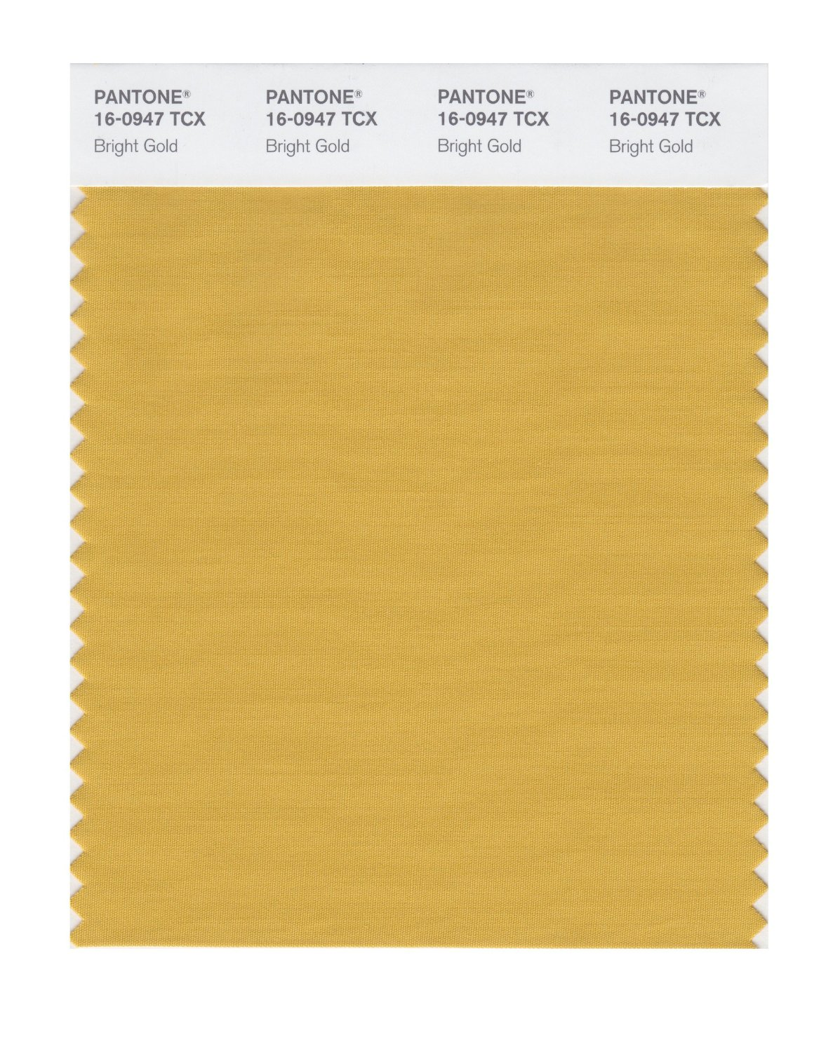 Pantone Smart Swatch 16-0947 Bright Gold