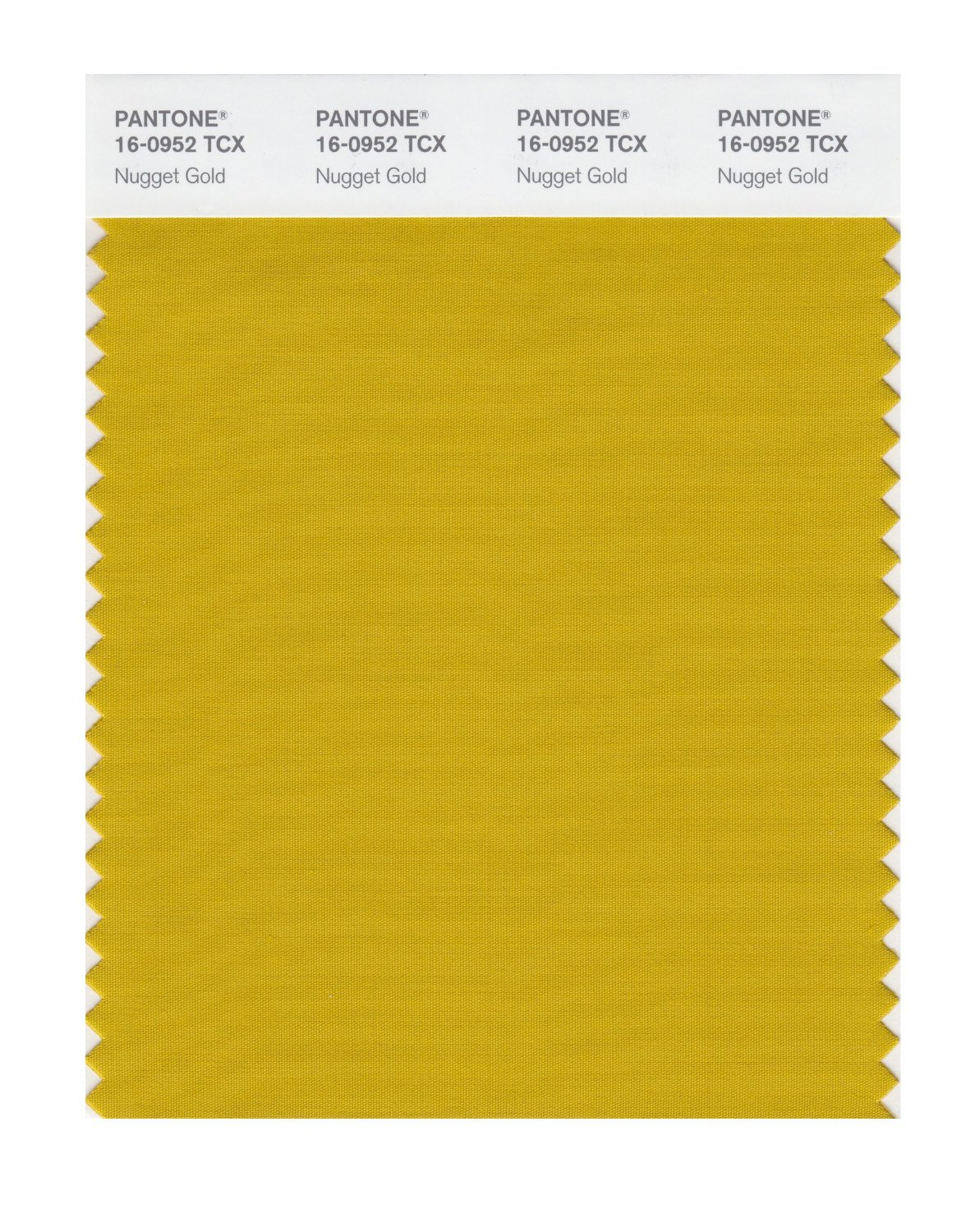 Pantone Smart Swatch 16-0952 Nugget Gold