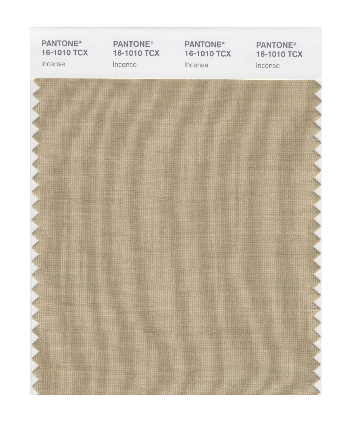 Pantone Smart Swatch 16-1010 Incense