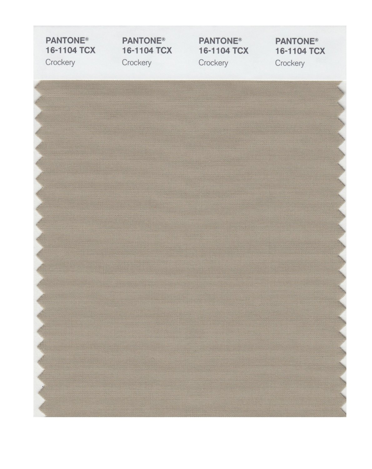 Pantone Smart Swatch 16-1104 Crockery